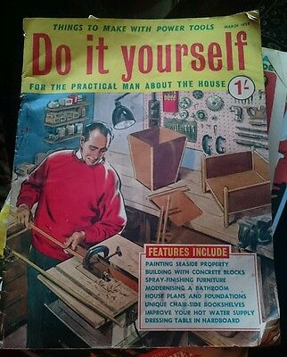 Vintage magazine do it yourself march 1959 299 picclick uk vintage magazine do it yourself march 1959 solutioingenieria Gallery
