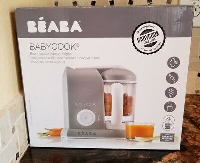 BEABA Babycook  Steam Cooker & Blender, Cloud,