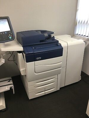 Xerox Color C70 comes with Advanced Finisher and Bustle Fiery low meter of 89k