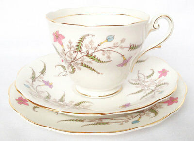 Royal Standard Fancy Free Trio Cup and Saucer and Plate