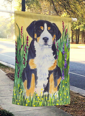 Carolines Treasures  SS8217CHF Greater Swiss Mountain Dog Flag Canvas House Size