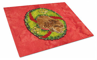 Carolines Treasures  SS4197LCB Sussex Spaniel Glass Cutting Board Large