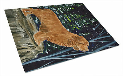 Carolines Treasures  SS8174LCB Sussex Spaniel Glass Cutting Board Large