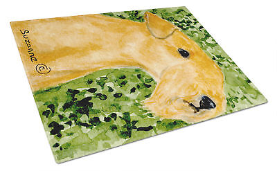 Carolines Treasures  SS8804LCB Lakeland Terrier Glass Cutting Board Large