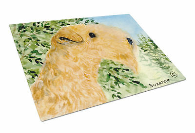Carolines Treasures  SS8888LCB Lakeland Terrier Glass Cutting Board Large