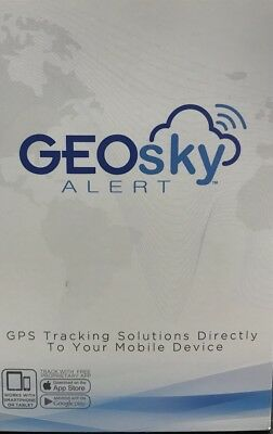 GeoSky ALERT Motorcycle Tracker For Bikes Small Compact GPS 731882452549