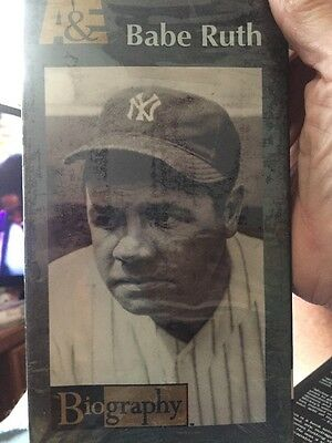 Biography: Babe Ruth (VHS, 1995), New York Yankees,Boston Red Sox,Sultan Of Swat
