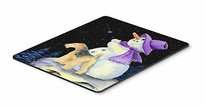 Carolines Treasures  SS8956MP Snowman with Lakeland Terrier Mouse Pad / Hot Pad