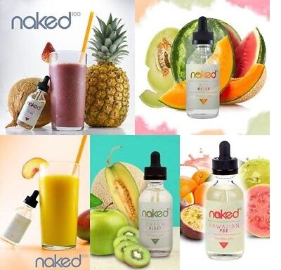 Naked 100 US Premium E Liquid *CHEAPEST ON EBAY* 3/6mg 3/6/9x10ml 30/60/90ml TPD