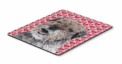 Border Terrier Valentine's Love Mouse Pad, Hot Pad or Trivet