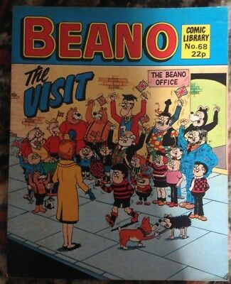 Beano Comic Library 68 The Visit