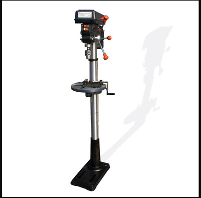 16 Speed Floor Drill Press Machine W/Laser Mount