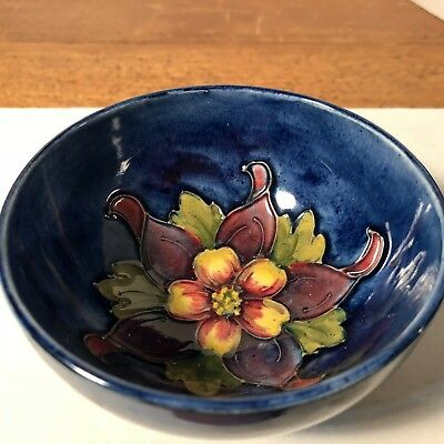 Made in England, Beautiful Floral Design, stamped Moorcroft