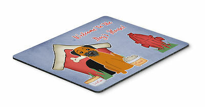 Dog House Collection Border Terrier Mouse Pad, Hot Pad or Trivet