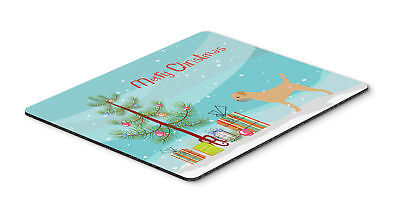 Border Terrier Merry Christmas Tree Mouse Pad, Hot Pad or Trivet