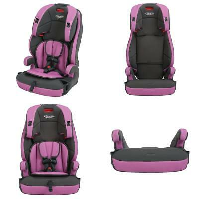 New Tranzitions 3 In 1 Harness Booster Convertible Car Seat Adjustable Headrest