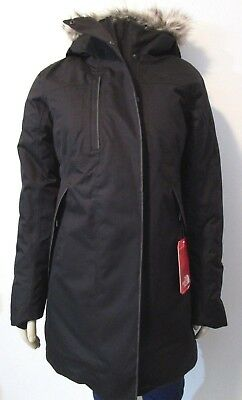 Womens The North Face TNF Far Northern Down Parka Waterproof Winter Jacket Black