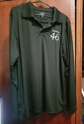 Makers Mark Makers 46 Long Sleeve Shirt XL 100% Polyester Never Worn KY Bourbon