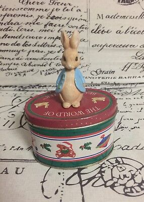 The World Of Beatrix Potter Collectable Tin