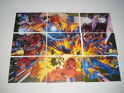 1994 Fleer Ultra X Men Lot of 21 Portrait Fatal Attraction Greatest Battles