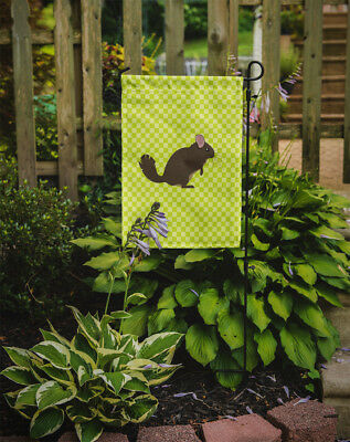 Carolines Treasures  BB7701GF Chinchilla Green Flag Garden Size
