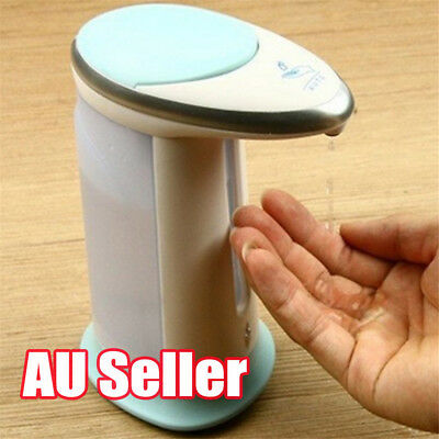 Automatic IR Sensor Soap Dispenser Touchless Handsfree Sanitizer Hand-Wash BK