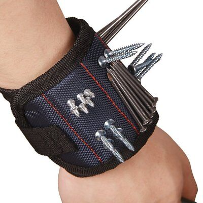 Tool Magnetic Wristband Electrician Belt Wrist Bag  1pcs Strong Magnets