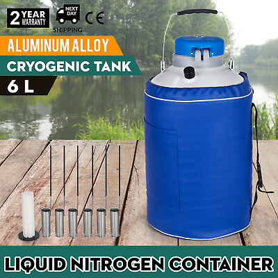 6l Liquid Nitrogen Container Ln2 Cewar Tank Storage Ce Approved Insulation