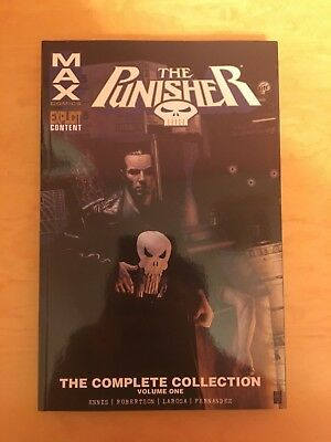 Punisher Max: The Complete Collection Vol 1-4 TPB Set By Garth Ennis