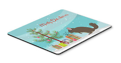 Carolines Treasures  BB9242MP Chinchilla Christmas Mouse Pad, Hot Pad or Trivet