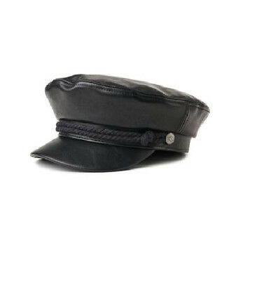 Brixton Fiddler Cap - Black - Vegan Leather