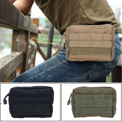 Tactical Waist Pack Pouch Military Camping Hiking Outdoor Bag Belt Wallet Bags