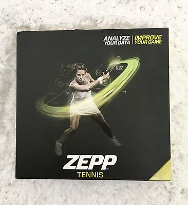 Zepp Tennis Swing Analyzer - Unopen Box! Apple and Android Compatible