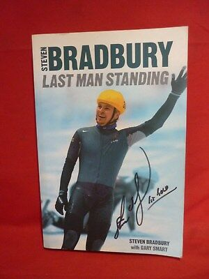 Last Man Standing - Steve Bradbury Signed Copy Soft Cover Book Vgc Olympic Gold