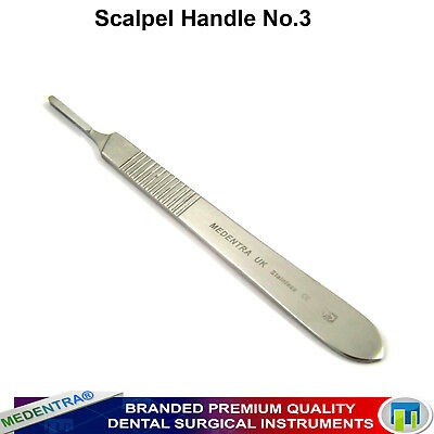 Dental Surgery Instruments Surgical Scalpel Handle Size 3 Medical Surgery Tools