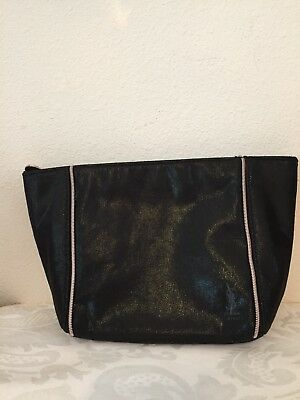 Yves Saint Laurent YSL BEAUTE Black Opium Large Pouch Cosmetic Makeup Bag  Case 90d42a70e4359