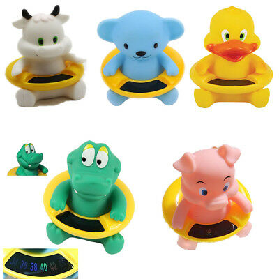 Water Temperature Infant Baby Animal Thermometer Cute Bath Tub Tester Toy Shape