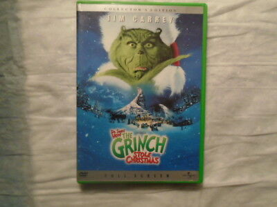 Dr. Suess How the Grinch Stole Christmas DVD Collector's Edition Full Screen