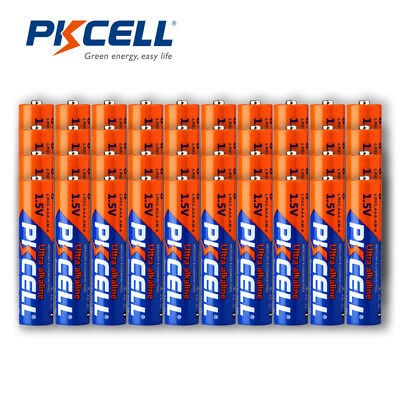 40 x AAA Battery 1.5V Industrial Procell Alkaline LR03 MN2400 EXP2028
