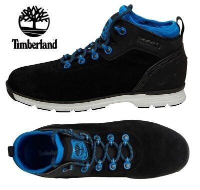 TIMBERLAND EURO HIKER SF LT Spa Boot Black Shoe Authentic