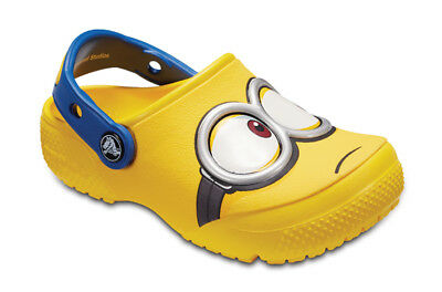 Chaussures Enfants/Junior Sneakers Crocs Funlab Despicable [204113 Yellow]