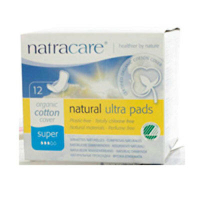 Super Ultra W/wings Pads 12 Ct by Natracare
