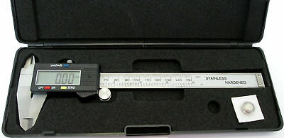 tooltime MS092 6-Inch 150 mm Electronic Digital Vernier Calliper -