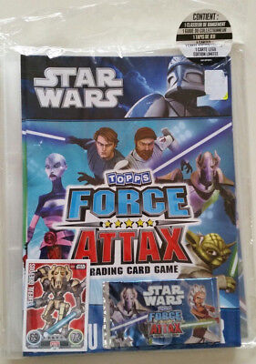 """Classeur Star Wars """" Force Attax """" Complet  Neuf"""