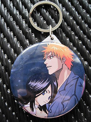 Bleach Anime / Manga Mirrored Keychain & Cell Charm WINNER'S CHOICE