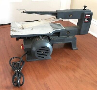 Sears craftsman scroll saw 16 inch model wood working tools garage sears craftsman scroll saw 16 inch model wood working tools garage greentooth Image collections