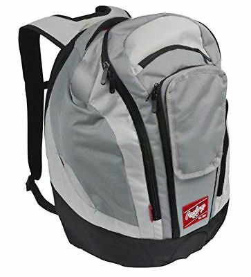 New Rawlings Legend Pro Backpack, Baseball Gray
