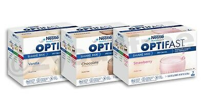 OPTIFAST® 800 POWDER SHAKES | 12 BOXES | 84 SERV | ANY FLAVOR or VARIETY CHOICES