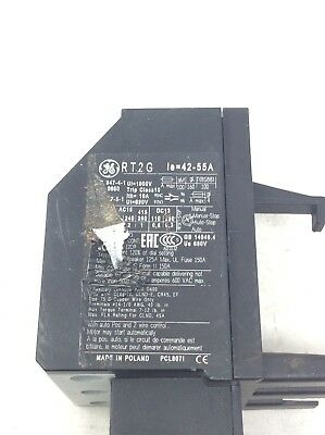 General Electric Rt2G 42-55 A Overload Relay Rt2G