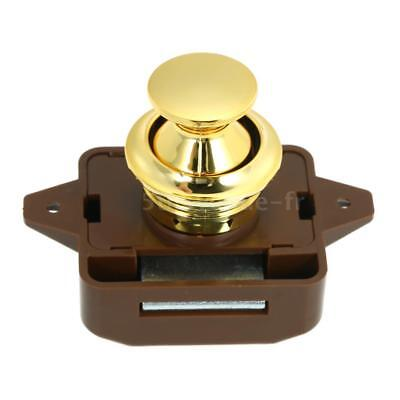 Large Push Button Cabinet Latch for Rv/Motor Home Cupboard Caravan Lock for A6Z6